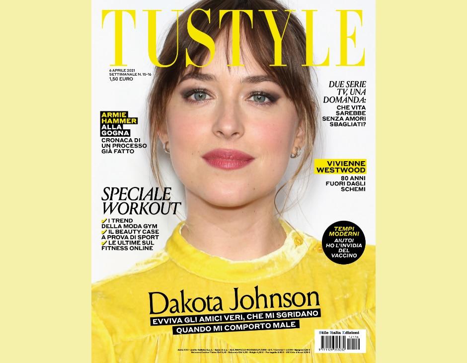 Dakota Johnson in copertina