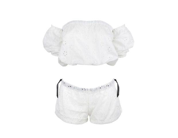 malç_beachwear_sicilia_collection_top_bombetta+shorts_sangallo_bianco_davanti