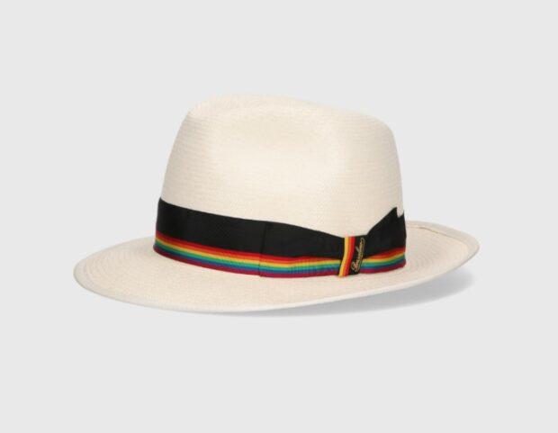 Cappello Borsalino capsule collection Pride Month