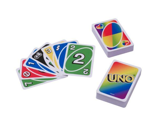 Carte da gioco Uno pride