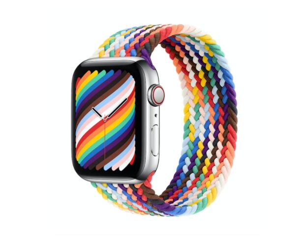 Cinturino Apple Watch Pride Edition Braided Solo Loop