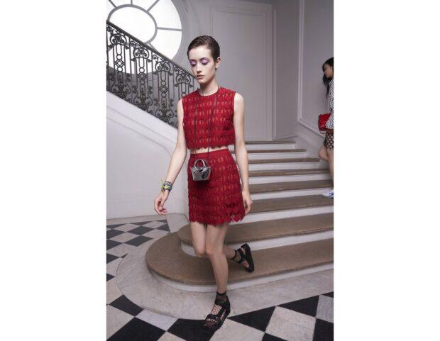 Longchamp PE21 tendenza crochet