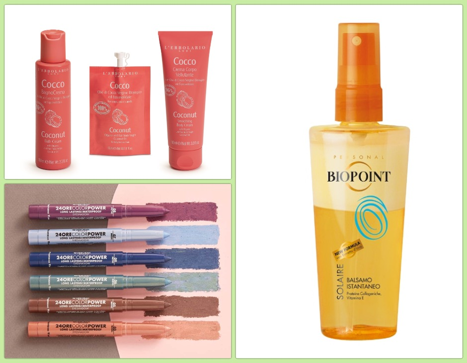 beauty routine green
