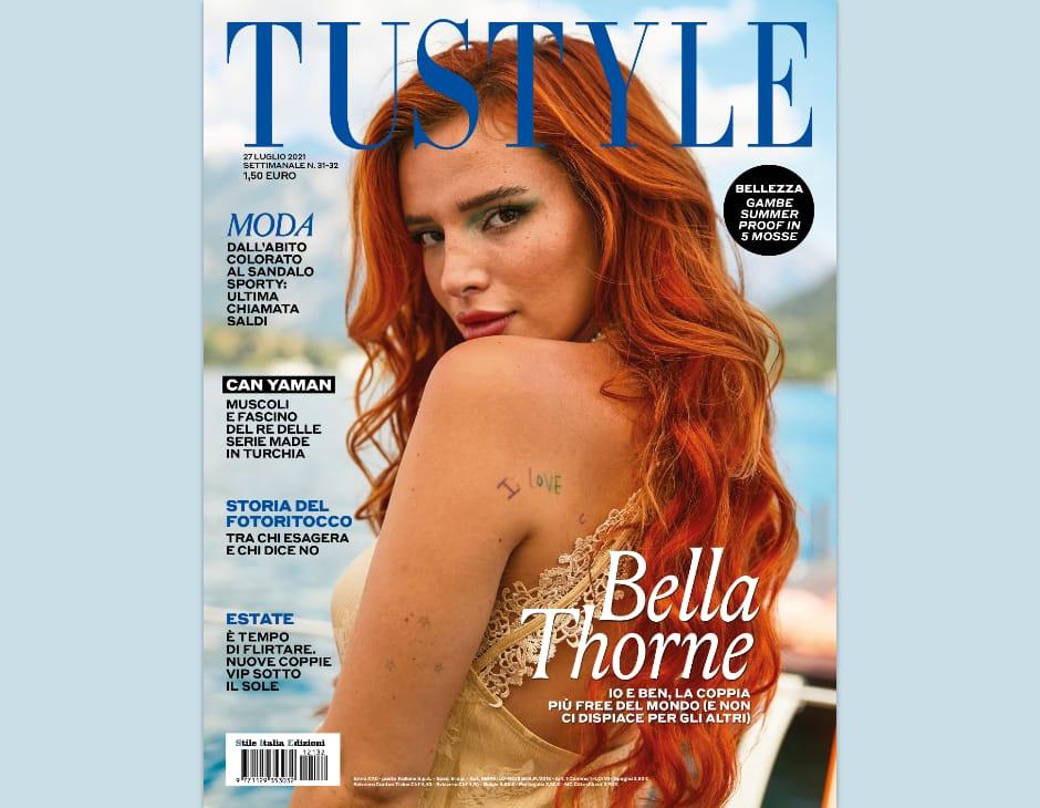 Bella Thorne in copertina su Tustyle