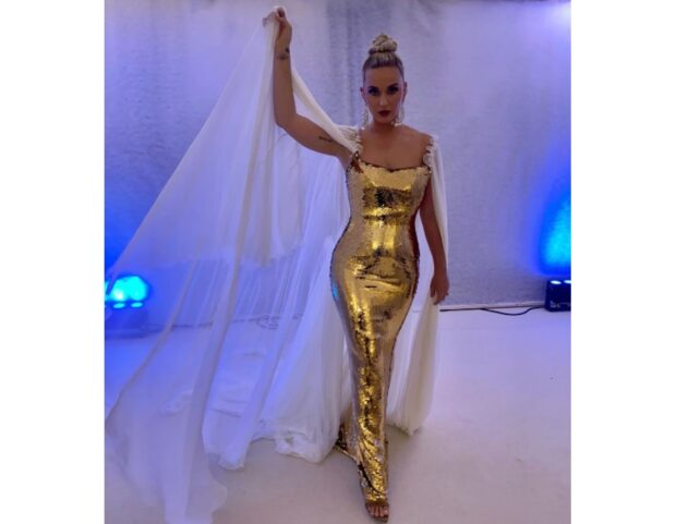 Katy Perry on Dolce&Gabbana gala unicef luisavia roma