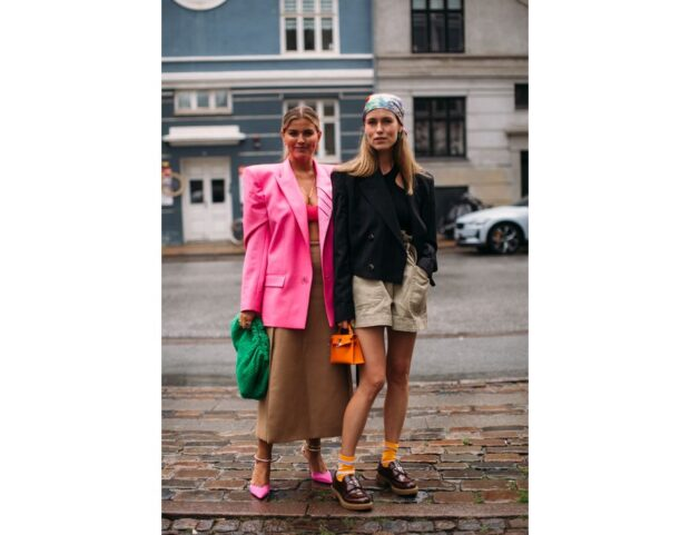 Copenhagen street style PE 22 blazer bermuda gonna