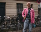 Copenhagen street style PE 22 giacca pink
