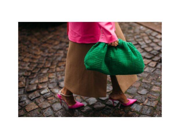 Copenhagen street style PE 22 pouch bag