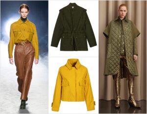 giacche e capispalla d'autunno